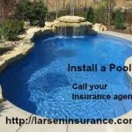 Swimming pools at rental property.